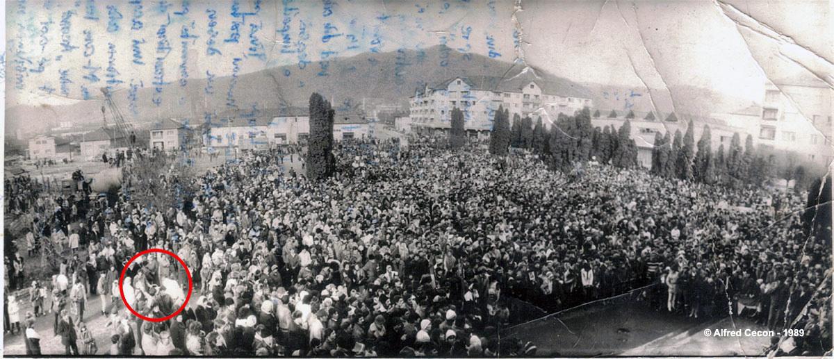 """Otelu Rosu - In cercul rosu ma aflam eu si strigam : """"Jos Ceausescu"""" !"""