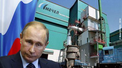 Vladimir Putin, Mechel, Russia