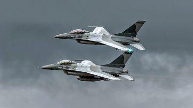 Cocar Romeno, F-16, RoAF - 15123 and 15125