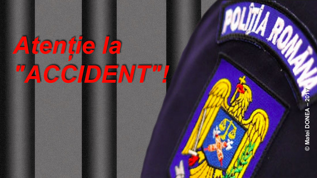 "Politia Otelu Rosu, ""Atentie la ACCIDENT""!"