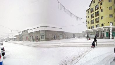 Iarna in Otelu Rosu, 2017