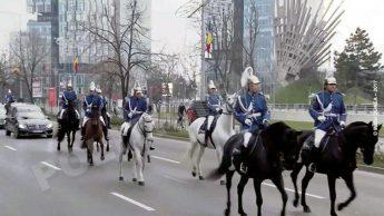 Ceremonia de inmormantare a Regelui Mihai I