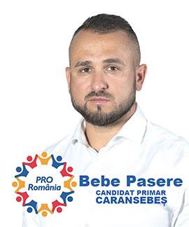 Felician (Bebe) PASERE, Pro România