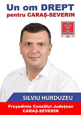 Silviu Hurduzeu, Presedinte al Consiliului Judetean - Caras Severin