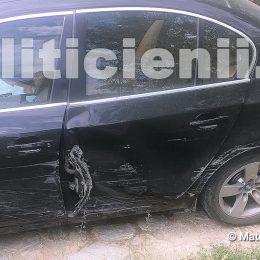 Gerhard Malaiescu, autoturism personal avariat