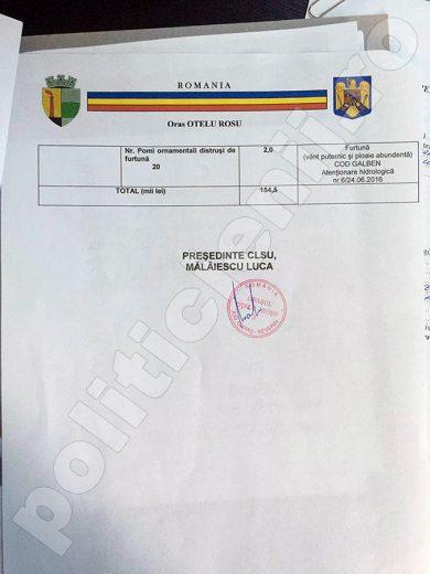 Raport sinteza 2 in Consiliul Local, 27 iunie 2016