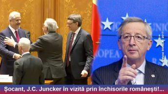 Puscariasi si puscariabili romani alaturi de Jean Claude Juncker