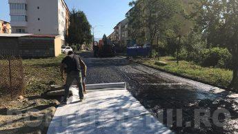 Otelu Rosu, asfaltari 2017