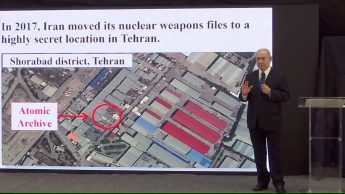 Netanyahu speak about iran nuclear project's