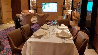 Etihad A380, lounge