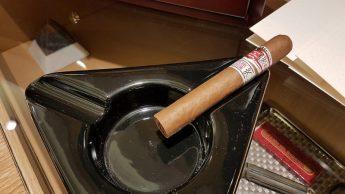 Etihad A380, cigar