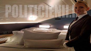 Etihad A380, residence bedroom