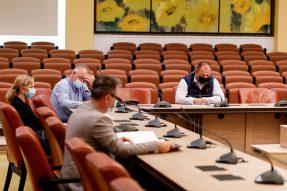 Intalnire la Consiliul Judetean - Caras Severin
