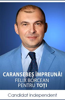 CARANSEBEȘ ÎMPREUNĂ, Felix BORCEAN pentru TOTI