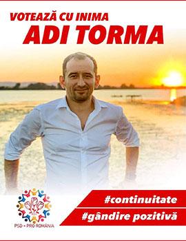 Votează cu inima, Adrian TORMA