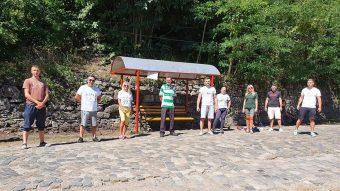 Volunntarii ecologisti in Doman