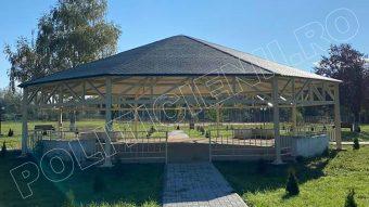 Pavilion, zona de agreement Gura Jgheabului
