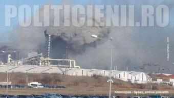 Kronospan - Sebes, emisie poluanta