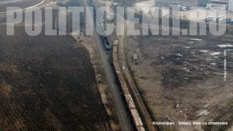 Kronospan - Sebes, tren cu cherestea